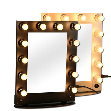 Professional Vanity Mirror With Lights Professional Makeup Mirror Mirrors With Bulbs Makeup