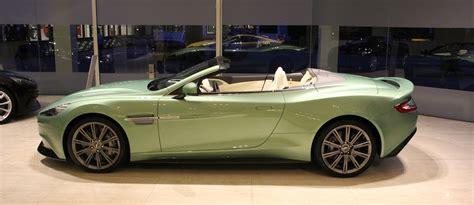 Aston Martin Green by Vanquish Volante Apple Tree Green Side 187 Aston Martin