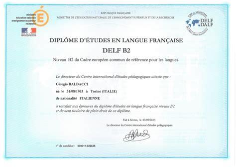 Exemple De Lettre Formelle Delf B2 Delf B2