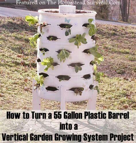 Vertical Garden Barrel 17 Best Images About 55 Gal Drum Ideas On