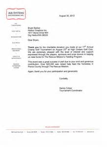 Charity Letter Of Appreciation Letters Of Appreciation Harbor Graphics Blog