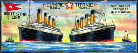 Did Olympic Sink by Did The Titanic Really Sink Or Was It Olympic Shorthand