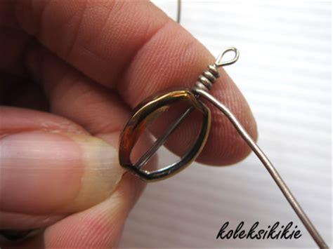cara membuat gelang india membuat gelang lilit dr kawat alumunium koleksikikie