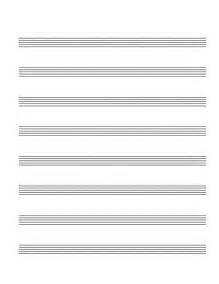 Printable Blank Sheet by Blank Sheet Paper Vocal Score With 4 Rows