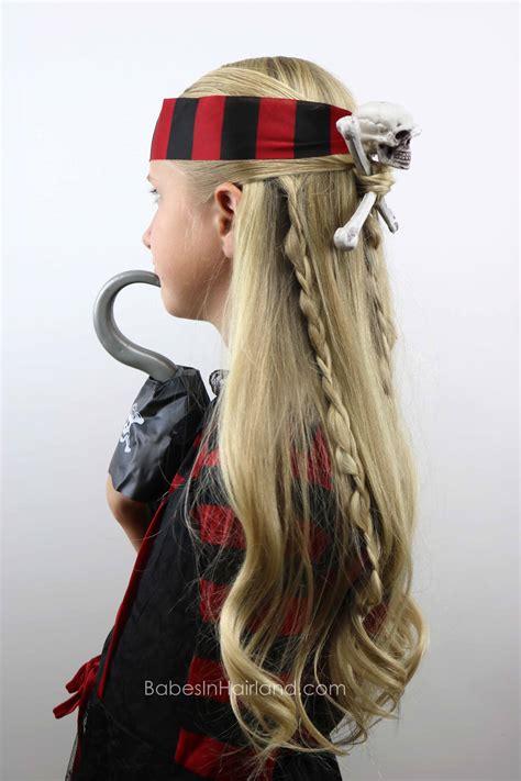 Pirate Hairstyles skull crossbones pirate hair hairstyle