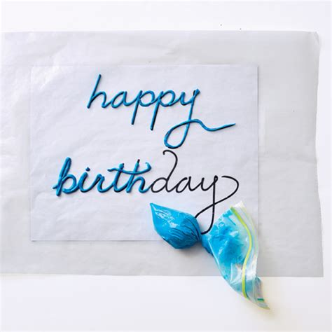 write happy birthday in design how to write quot happy birthday quot on a cake today s parent