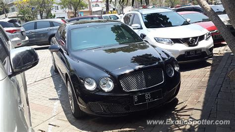 bentley jakarta bentley continental spotted in jakarta indonesia on 09 21