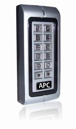 weatherproof keypad single relay keypad with card reader
