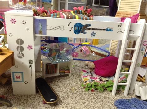 journey girls loft bed american girl doll loft bed found it at toys r us the