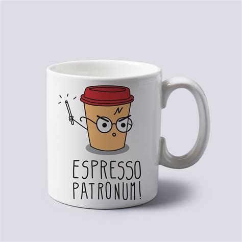 1 Oz Ceramic Espresso by Espresso Patronum Harry Potter