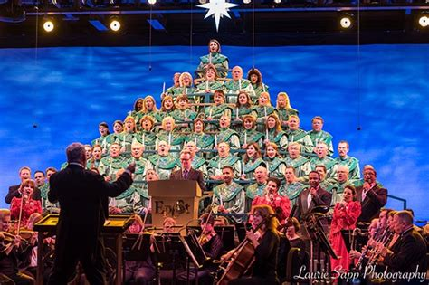 human christmas tree epcot candlelight processional the story at epcot