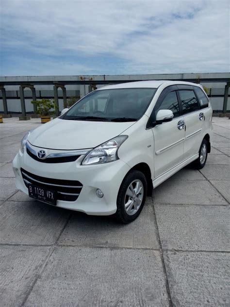 Jual Toyota Avanza Veloz 2014 toyota avanza veloz 1 5 matic 2014 putih h 149 jt