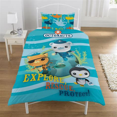 octonauts bedding octonauts duvet quilt cover official new bedding ebay