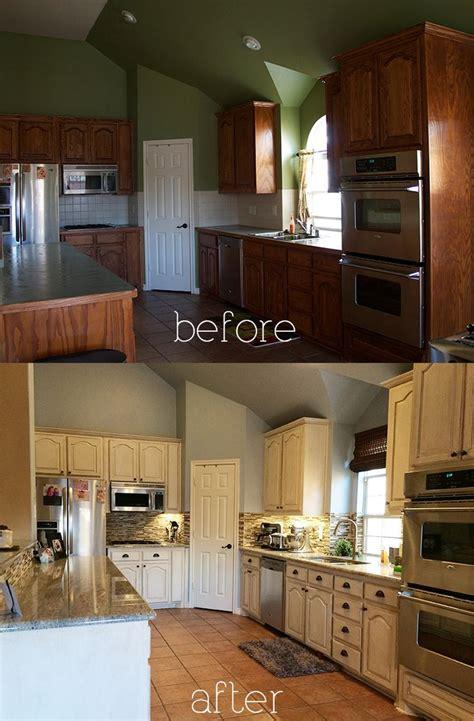 antique white glazed cabinets b a kitchen diy antique glaze cabinets kashmir granite