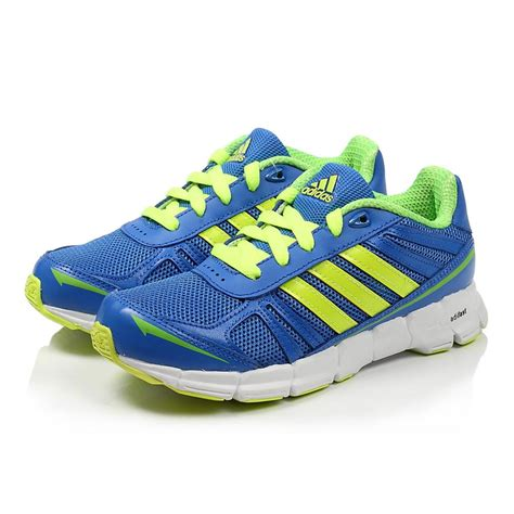 adidas youth running shoes adidas adifast running shoes blue lime tennisnuts