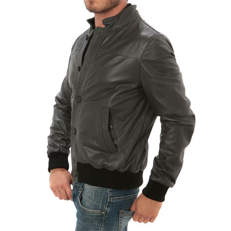 Bomber Button button bomber jacket grey s aff clothing touch of