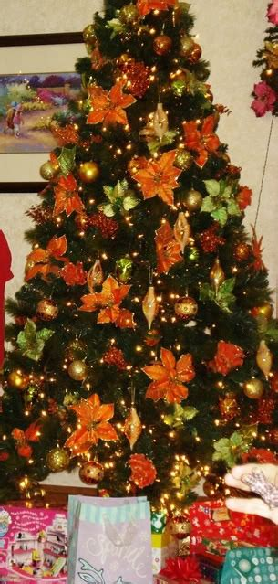 orange smell christmas tree burnt orange decorations www indiepedia org