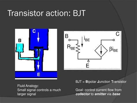 bjt transistor working ppt ppt bipolar junction transistors powerpoint presentation id 2484729