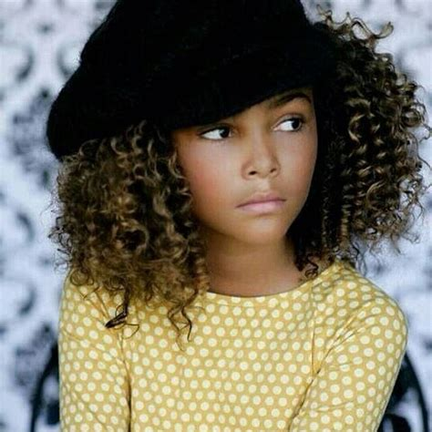 black hair style barrel curl ponytails 105 best images about kids with natural hair on pinterest