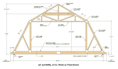 Gambrel Roof 26 Fresh Gambrel Roof Home Building Plans 85419