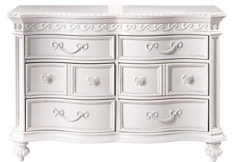 Princess Dresser by Disney Princess White 6 Drawer Dresser Disney