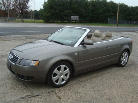 audi convertible 2006 2006 audi a4 1 8 turbo convertible salvage for sale
