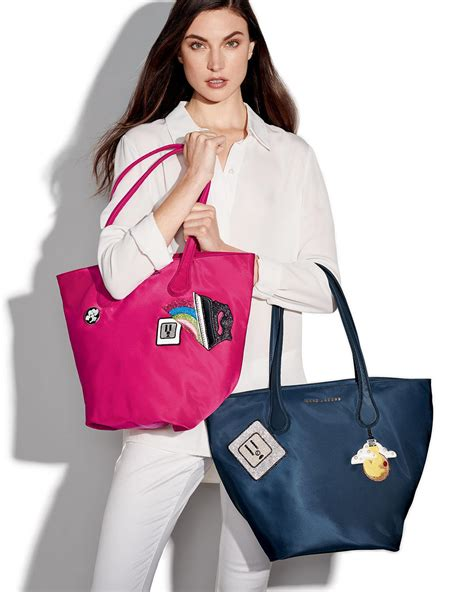 Lollipops Pink Patch Medium Bag by Lyst Marc Wingman Patch Tote Bag In Blue
