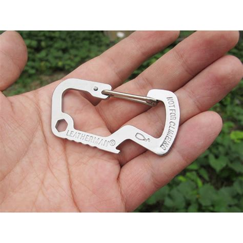 Versatile Edc Carabiner Stainless Steel With Bottle Opener versatile edc carabiner stainless steel with bottle opener silver jakartanotebook