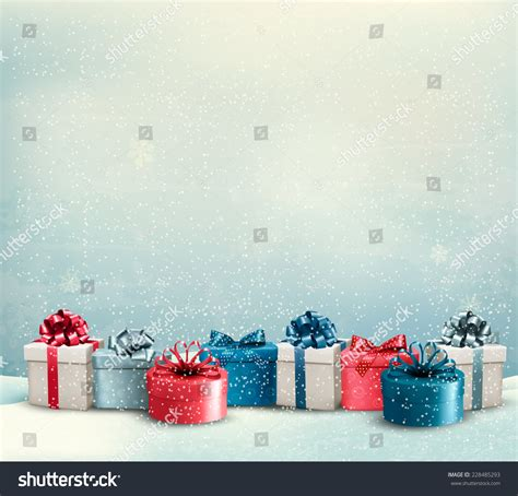 What To Do With Borders Gift Cards - holiday christmas background with a border of gift boxes vector 228485293