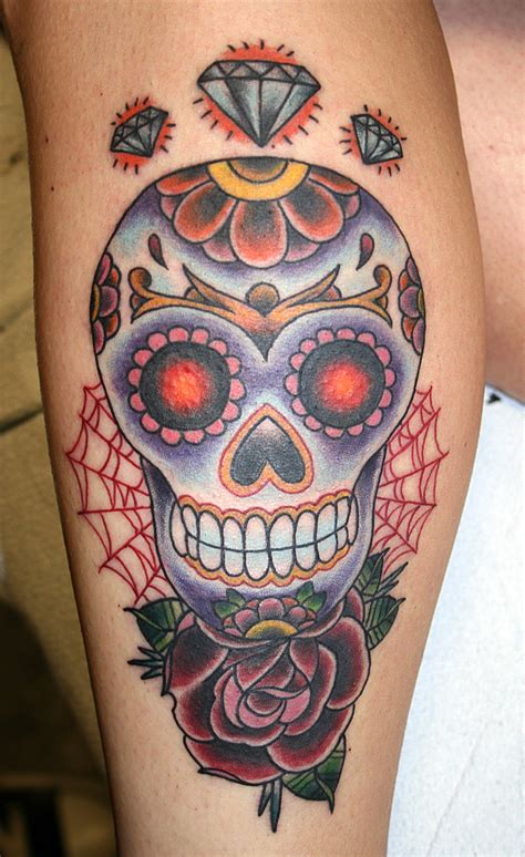 candy skull tattoo skull tattoos designs ideas and meaning tattoos for you