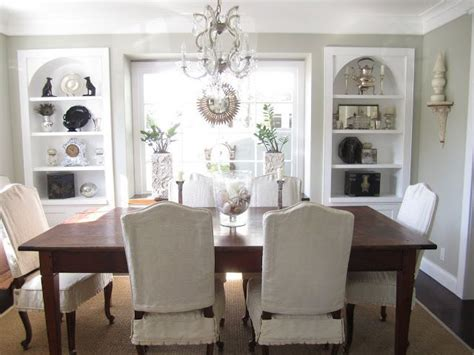 dining chair slipcovers casual cottage 30 best dining room built in cabinet images on pinterest
