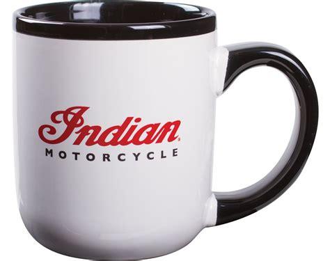 Indian Motorcycle Logo Mug (Set of 4)   Indian Motorcycle