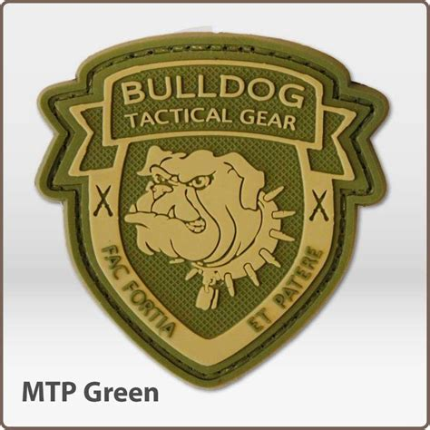 Rubber Pvc Patch Emblem 3d Pelopor 3d rubber bulldog tactical gear logo patch ukmcpro decals patches