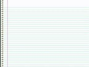 notebook paper background for powerpoint clipartsgram com