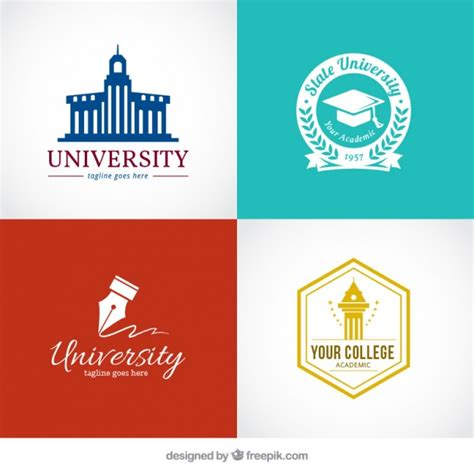 free logo design for university stylish logos for university vector free download