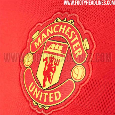 United Home by Manchester United 15 16 Home Kit Released Footy Headlines