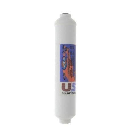 inline water filter omnipure cl10rot28 b gac inline water filter omnipure cl10rot28 b the home depot