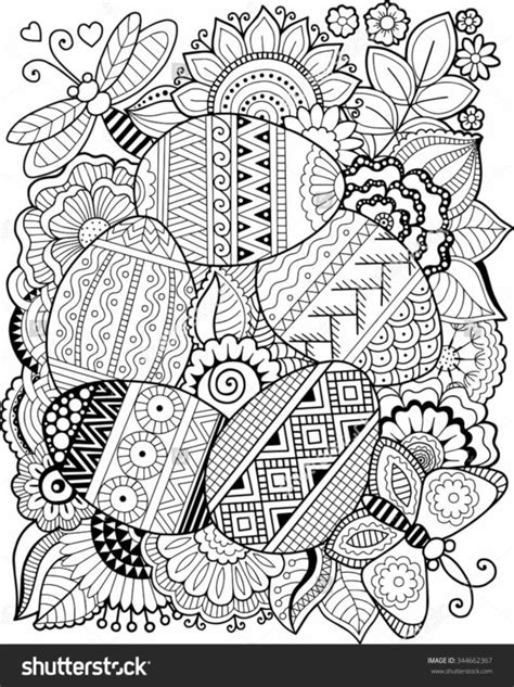 easter eggs coloring pages for adults coloring pages formalbeauteous easter coloring pages for