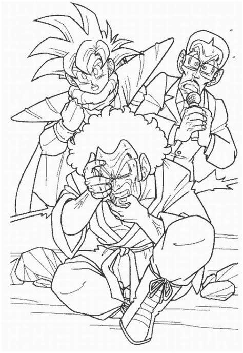 dbz coloring pages 2 coloring pages to print