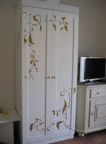 Wardrobe Paint Ideas by Painted Wardrobe Furniture And New