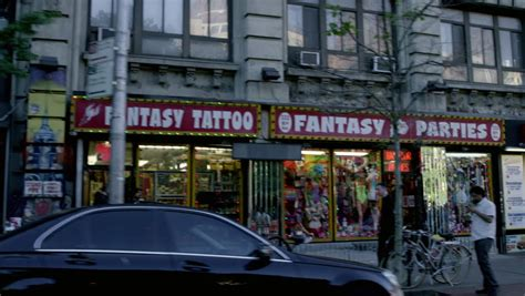 tattoo shops in manhattan west ave footage page 2 stock