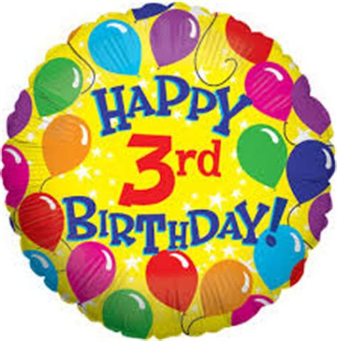 Happy Birthday Wishes For A 3 Year Happy 3rd Birthday Wishes For Kids Happy Every Day