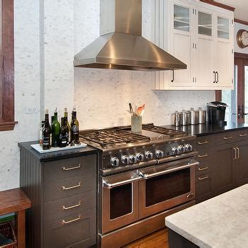 charcoal gray kitchen cabinets white shaker cabinets white kitchen with charcoal gray island design ideas