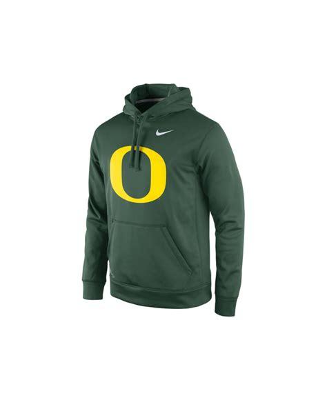 Jaket Sweater Hoodie Oregon Hoodies Home Clothing nike s oregon ducks performance practice hoodie in green for lyst