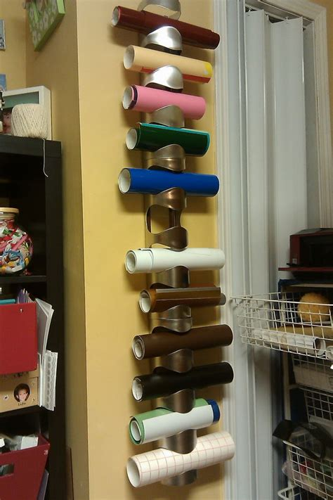 creative wrapping paper storage ideas