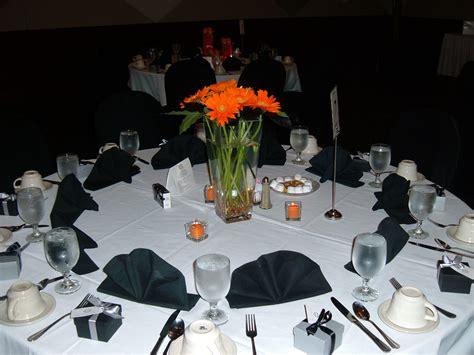 black and orange harley davidson themed wedding st s cultural center livonia mi cola