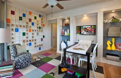 scrabble playroom modern other by masterpiece