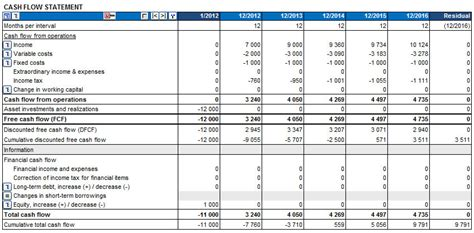 cash flow statement pdf