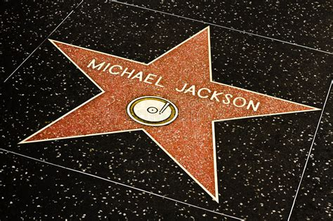 Michael Jackson Star On The Hollywood Walk Editorial Photo ... Hollywood Walk Of Fame Stars Michael Jackson