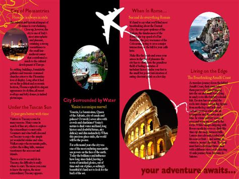 86 travel agency brochure sample travel agency brochure sample